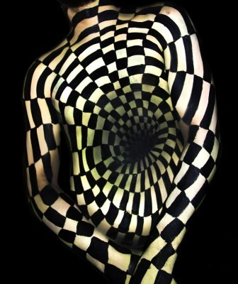 illusion Body Painting Natalie Fletcher 1