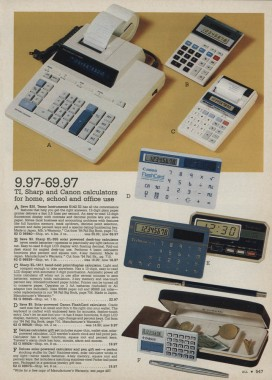 1984.xx.xx Montgomery Ward Christmas Catalog P547