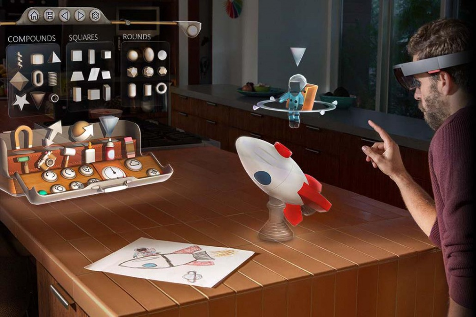 Proyecto HoloLens : la nueva era informática #tecnología