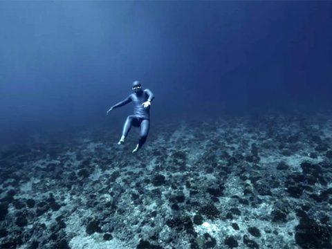 Submarinismo a pulmón y la «gravedad del océano» #vídeo