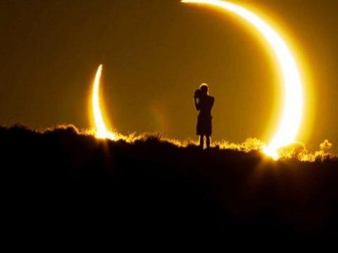 La magnitud del eclipse #relatos