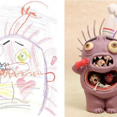 Los monstruos son de los niños #ilustracion