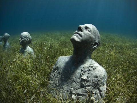La vida submarina del #arte, un museo bajo el agua